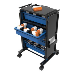 Virtual Reality Device and Headset Storage Cart (60 Unit Capacity)