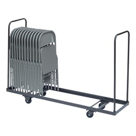 Dolly for Folding Chairs - Version shown holds 26 - 29 chairs