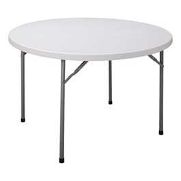 CP Series Round Blow-Molded Plastic Folding Table