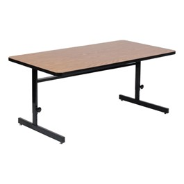 Adjustable-Height High-Pressure Top Computer Table