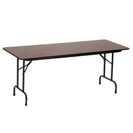 Premium High-Pressure Solid Plywood Folding Training Table
