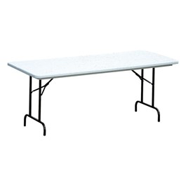Blow-Molded Plastic Folding Table