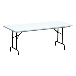 Antimicrobial Blow-Molded Plastic Folding Table