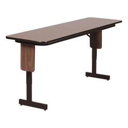 PanelLeg Training Table Adjustable Height W X L At - Adjustable training table