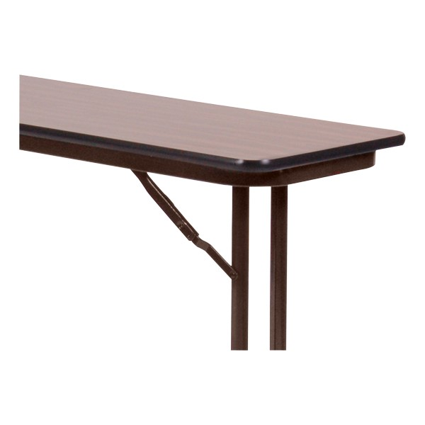 Folding Training Room Table<br>Detail of folding mechanism