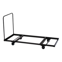 Flat-Stacking Folding Table Truck