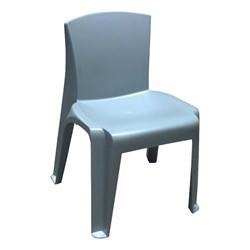 RazorBack Plastic Stack Chair - Blue Gray