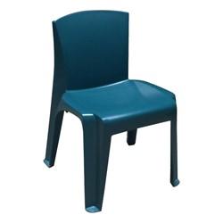 RazorBack Plastic Stack Chair - Teal
