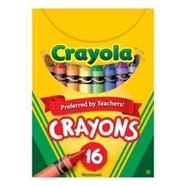 Crayola Crayons - 16 Count
