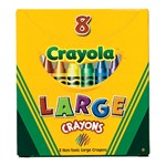 Crayola Large Size Crayons - 8 Count