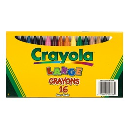 Crayola Large Size Crayons - 16 Count