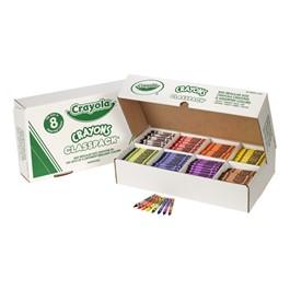 Crayola Crayon Classpack - 800 Count w/ 8 Colors