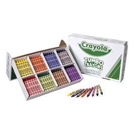 Crayola Jumbo Crayon Classpack - 200 Count