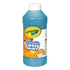 Crayola Washable Fingerpaint - Blue