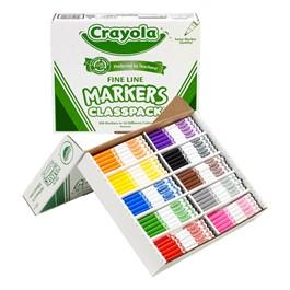 Crayola Marker Classpack - Fine Line