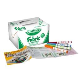 Crayola Fabric Marker Classpack - 80 Count