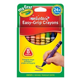 Crayola Washable Crayons - 8 Count