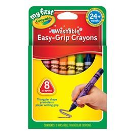 Crayola Washable Crayons - 8 Count