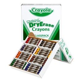 Crayola Dry Erase Crayon Classpack - 96 Count
