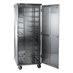 Non-Insulated Transport Cabinet - Shown w/ door open