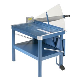 Premium Large-Format Guillotine Paper Cutter w/ Stand
