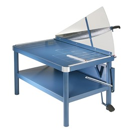 """Premium Large-Format Guillotine Paper Cutter w/ Stand (43\"""" Cut Length)"""