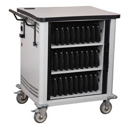 NetBook Cart w/ 32 Extra-Wide Compartments