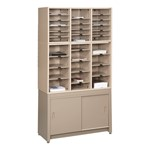 Mail Master Literature Sorting Rack w/ Storage