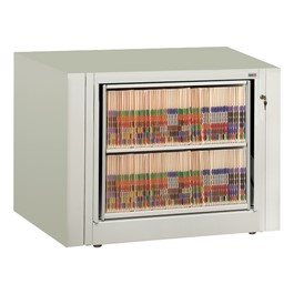 EZ2 Rotary Action File Cabinet - Starter Unit w/ Two Shelves