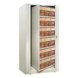 EZ2 Rotary Action File Cabinet<br>Shown rotating