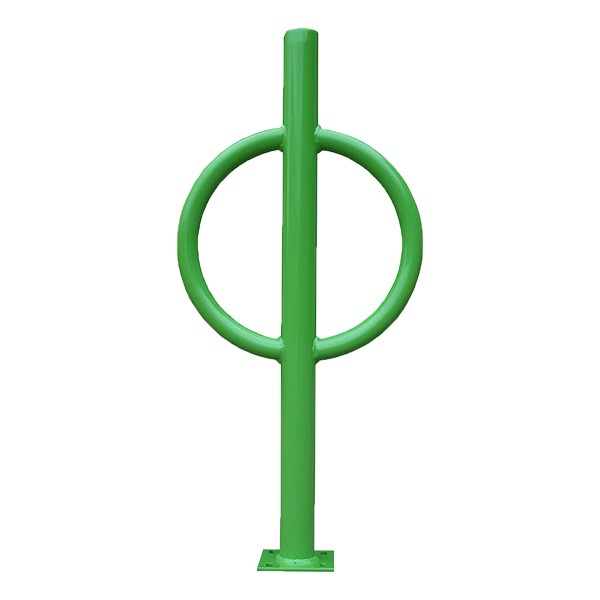 Bike Hitch - shown in light green