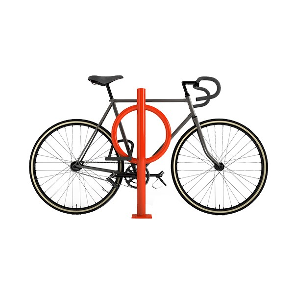 Bike Hitch - shown in orange