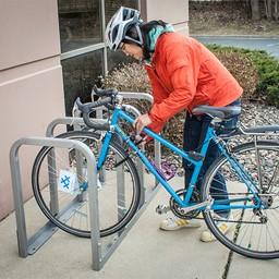 U-Lockit Bike Rack - Holds Eight Bikes