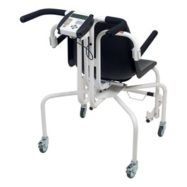 Digital Rolling Chair Scale - Back