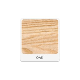 Two-Student Science Cabinet Table w/ Storage - Plain Apron - Plastic Laminate Top (Door & Drawers) - Oak