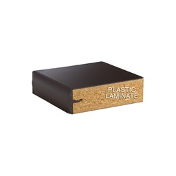 Four-Student Science Cabinet Table - Plain Apron - Plastic Laminate Top (Doors & Drawers) - Plastic Laminate