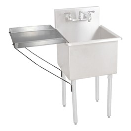 Detachable Drainboard for Budget Compartment Sinks