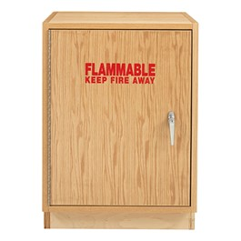 Flammable Liquid Locking Storage Cabinet - Single Door