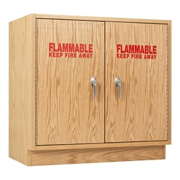 Flammable Liquid Locking Storage Cabinet - Double Door