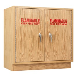 Flammable Liquid Locking Storage Cabinet - Double Door