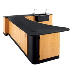 Peninsula Science Workstation w/ Sink