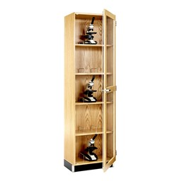 Microscope Storage Cabinet - Holds 15 Microscopes
