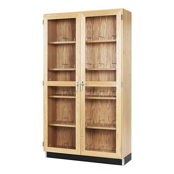Microscope Storage Cabinet - Holds 30 Microscopes