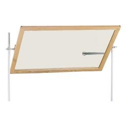 Diversified Woodcrafts Science Mirror - Shown w/ optional rods & crossbar
