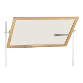 Diversified Woodcrafts Science Mirror - Shown w/ optional rods & crossbar