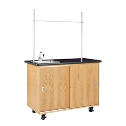Economy Mobile Lab Table w/ Sink