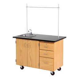 Mobile Desk w/ Sink