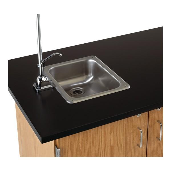 Mobile Desk w/ Sink - Sink