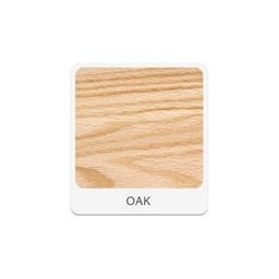 Mobile Desk w/ Sink - Oak Finish