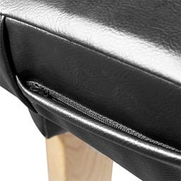 First Aid Treatment Bed - Zipper detail